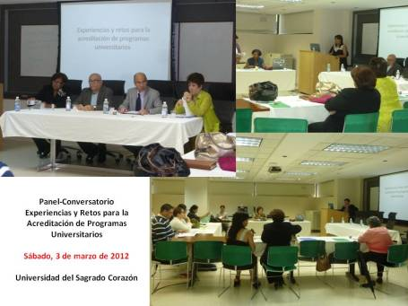 Panel acreditacion 2012
