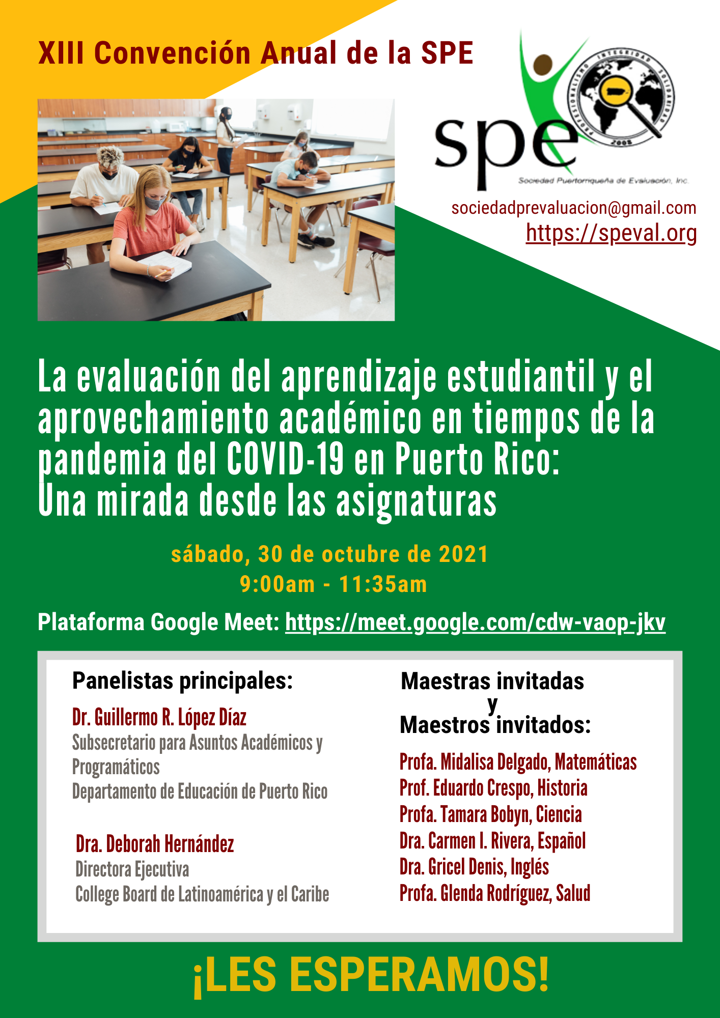 XIII Convención Anual de la SPE - 30 octubre 2021